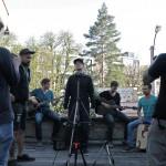 Video-Shooting mit Da Myc & Band